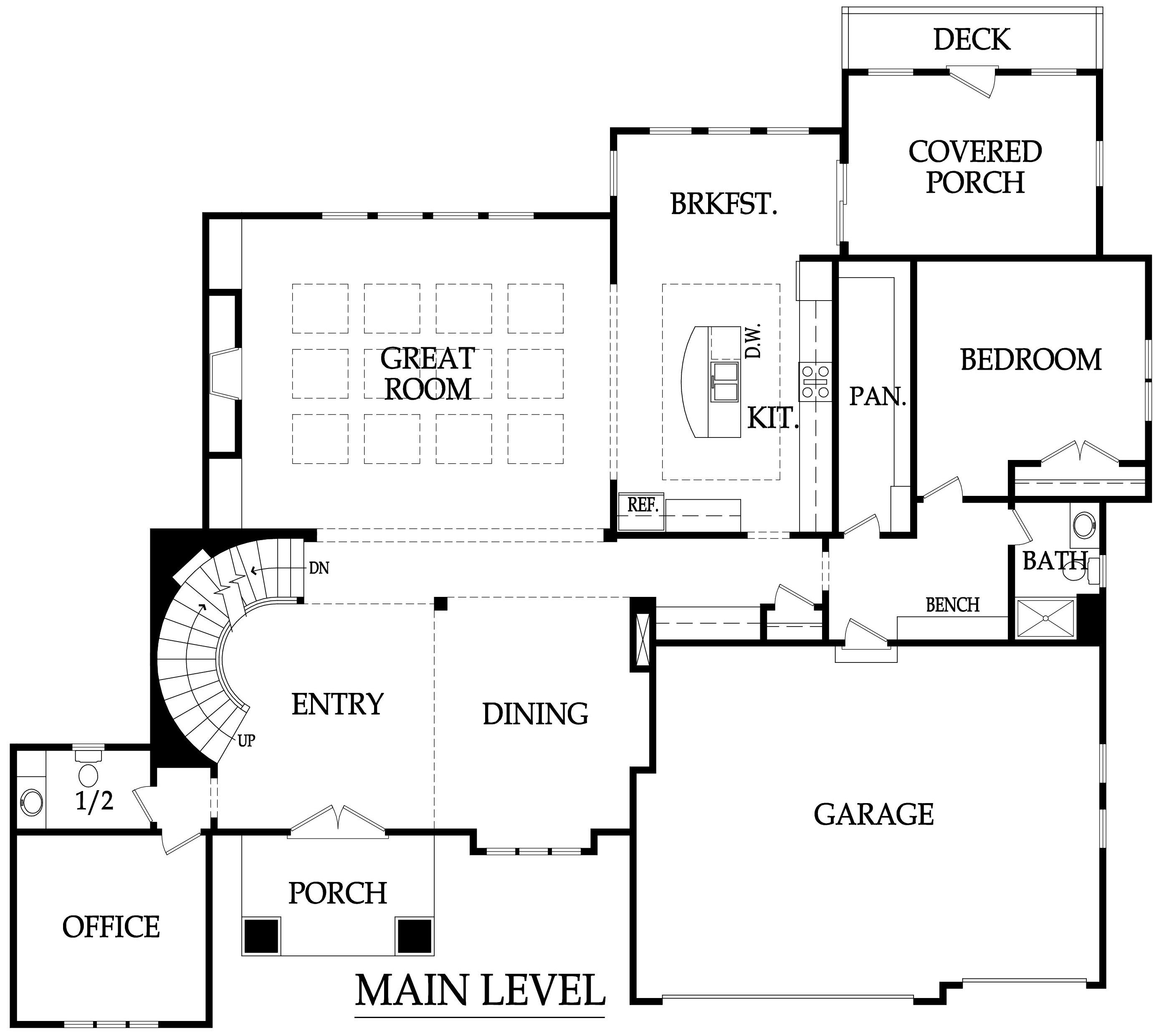 100 centralized floor plan carson i bungalow floor With centralized floor plan